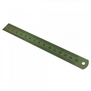 Stainless Steel Ruler - 6-inch / 15cm (Item No: B01-03) A1R2B3
